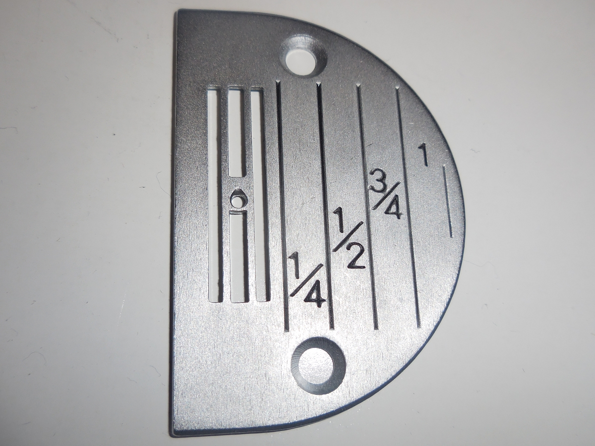 needle plate for sewing machine